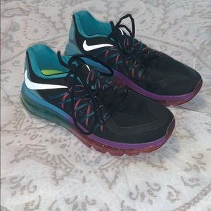 Nike Air Max Black Clearwater Running Sneakers 7